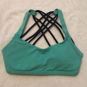 "Lululemon ""free to be wild"" sports bra: size 2"